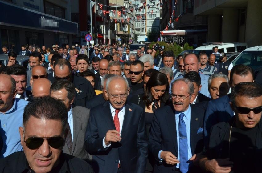 Kılıçdaroğlu Eskişehir ziyaretini tamamladı