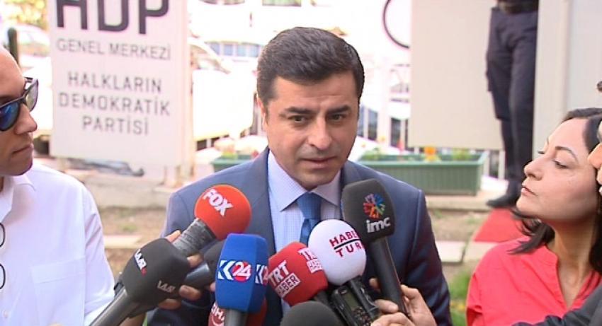HDP lideri MHP'yi bombaladı