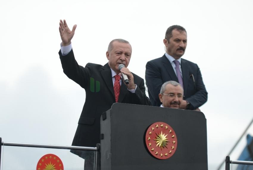 Cumhurbaşkanı Erdoğan, İmamoğlu'nun moderatör Küçükkaya ile yayından önce görüşmesini değerlendirdi