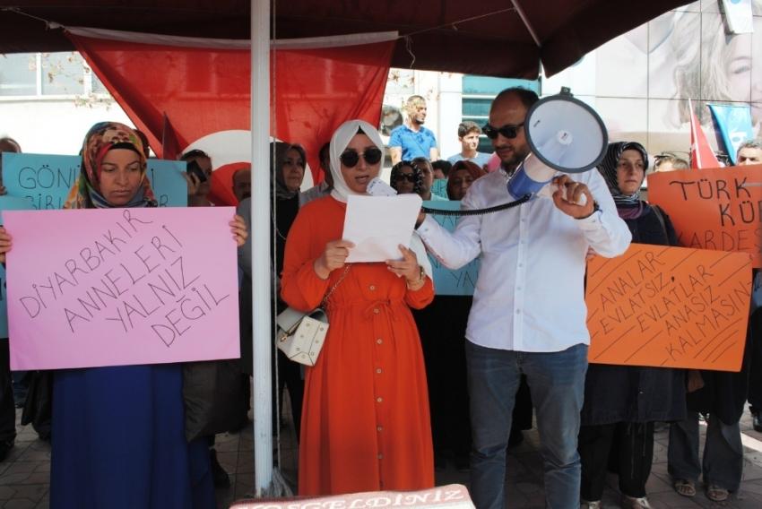 Ereğlili kadınlardan Diyarbakır'da eylem yapan annelere destek