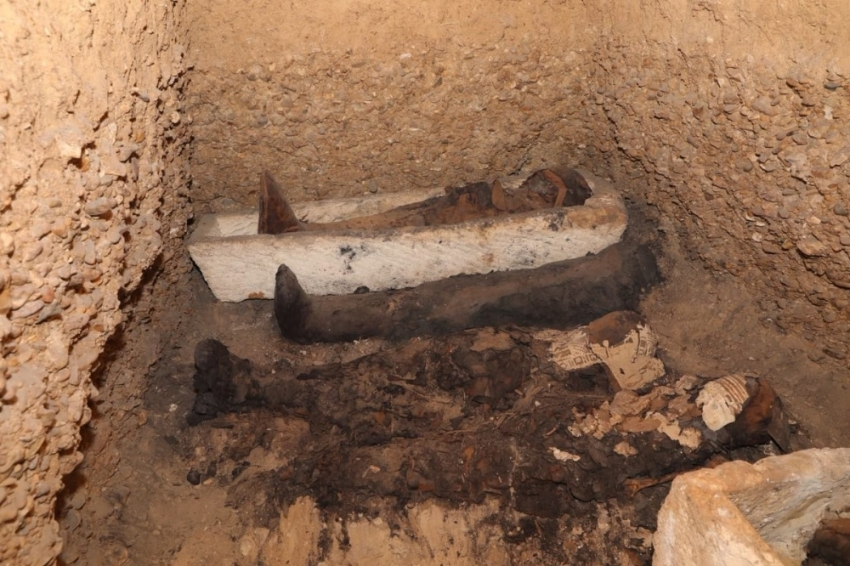 Mısır'da 40 mumya daha bulundu