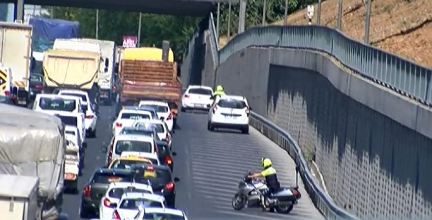 Şerit ihlali yapan sürücülere ceza yağdı