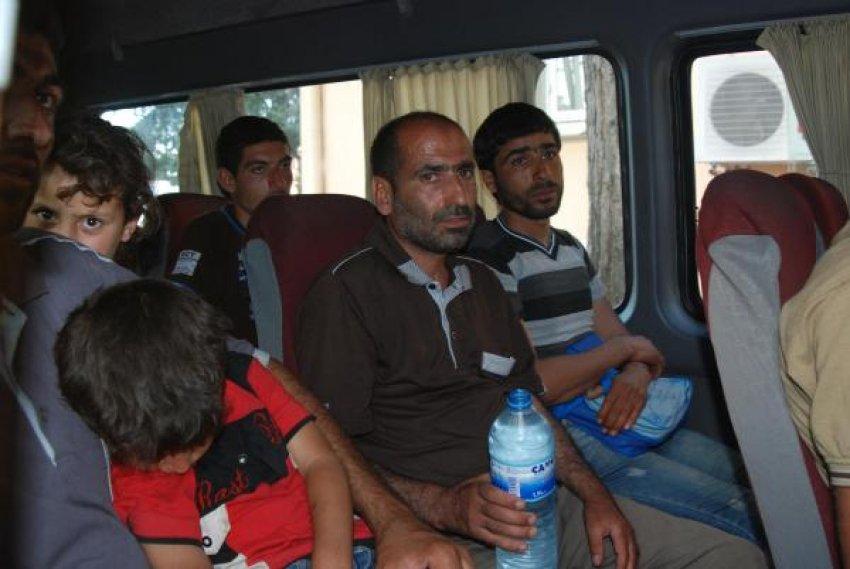 Türkiye'ye sığındılar