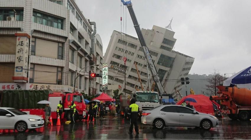 Tayvan'da bir deprem daha