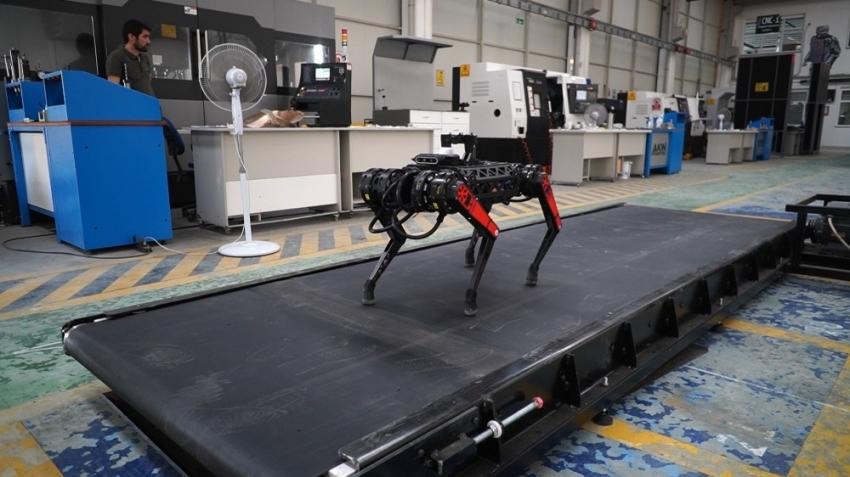 Dört ayaklı robot ARAT geliştirilmeye devam ediyor