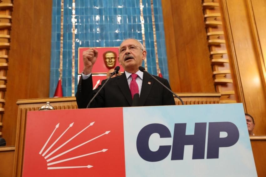 """CHP Genel Başkanı Kemal Kılıçdaroğlu :""""Türkiye'de 8 buçuk milyon insan işsiz"""""""