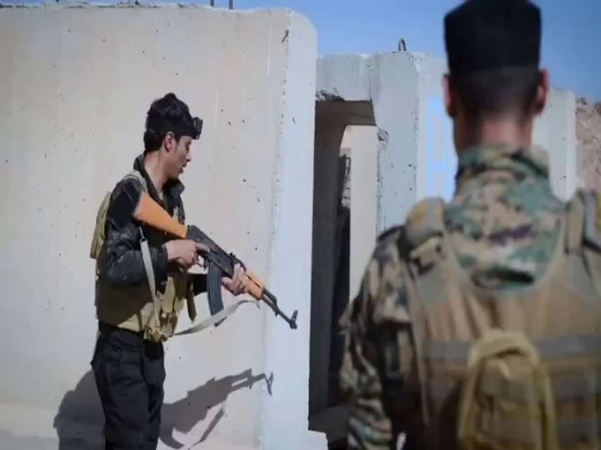 ABD askerlerinden PKK/YPG teröristlerine eğitim