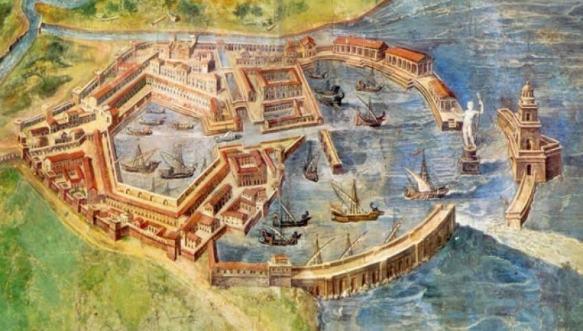 Roma Limanı yeniden yükselecek