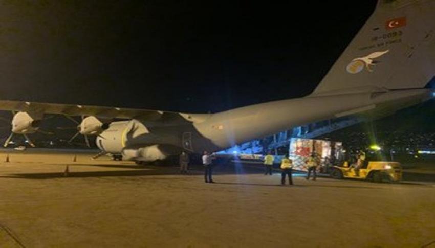 Uçağımız, Lübnan'ın başkenti Beyrut'a ulaştı