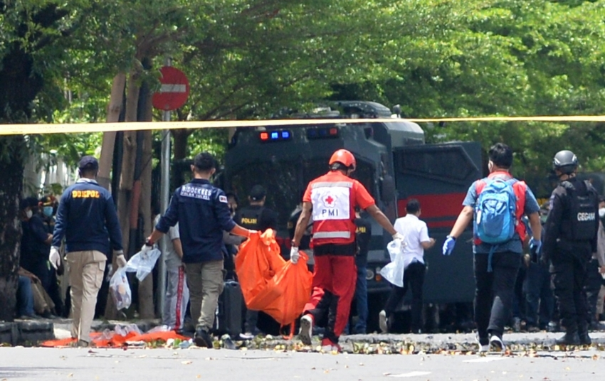 Endonezya bombacısının DEAŞ'a bağlı terör örgütü üyesi olduğu ortaya çıktı
