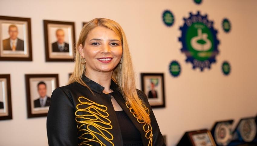 DOSABSİAD Yönetim Kurulu Başkanı Nilüfer Çevikel'den açıklamalar