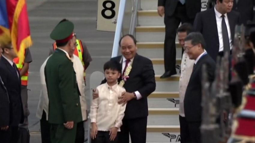Dünya liderleri ASEAN için Filipinler'de