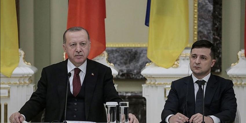 Erdoğan, Zelenskiy ile telefonda görüştü