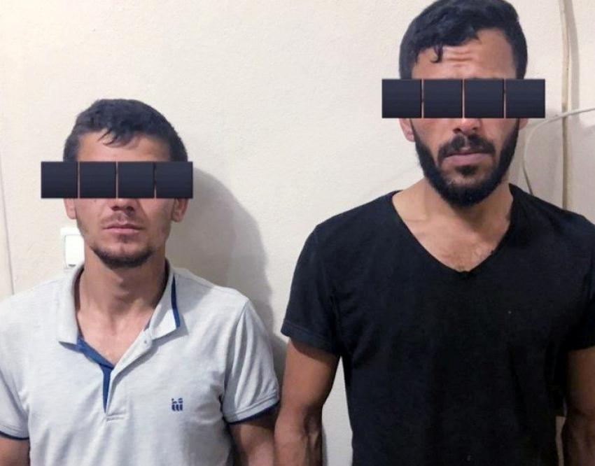 Kablo hırsızları suçüstü yakalandı