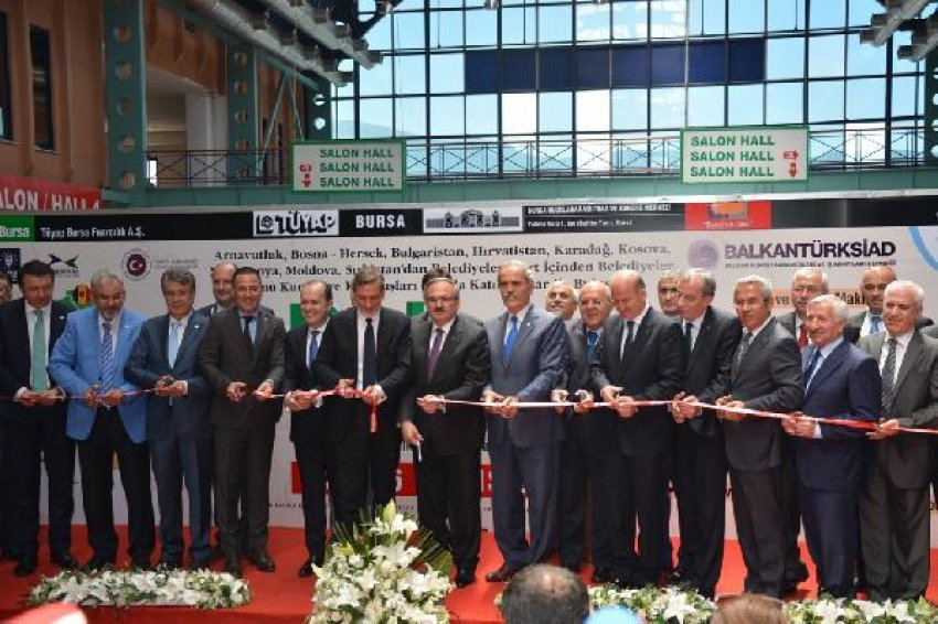 """""""Balkan Ticaret Fuarı"""" açıldı"""
