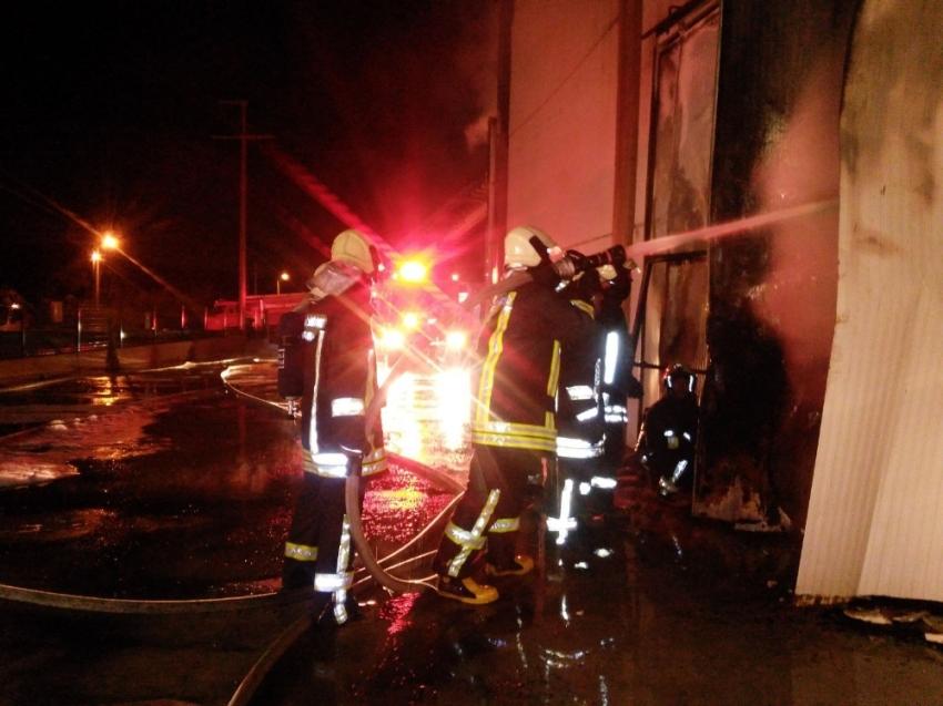 Yangına 18 araç, 40 personel müdahale etti