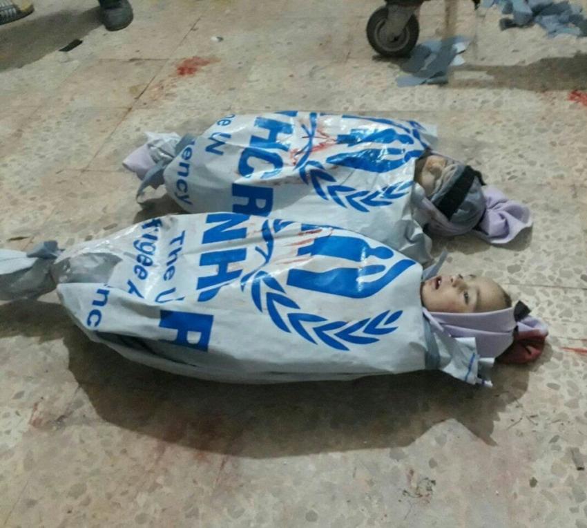 BM çuvalları masum çocukların kefeni oldu