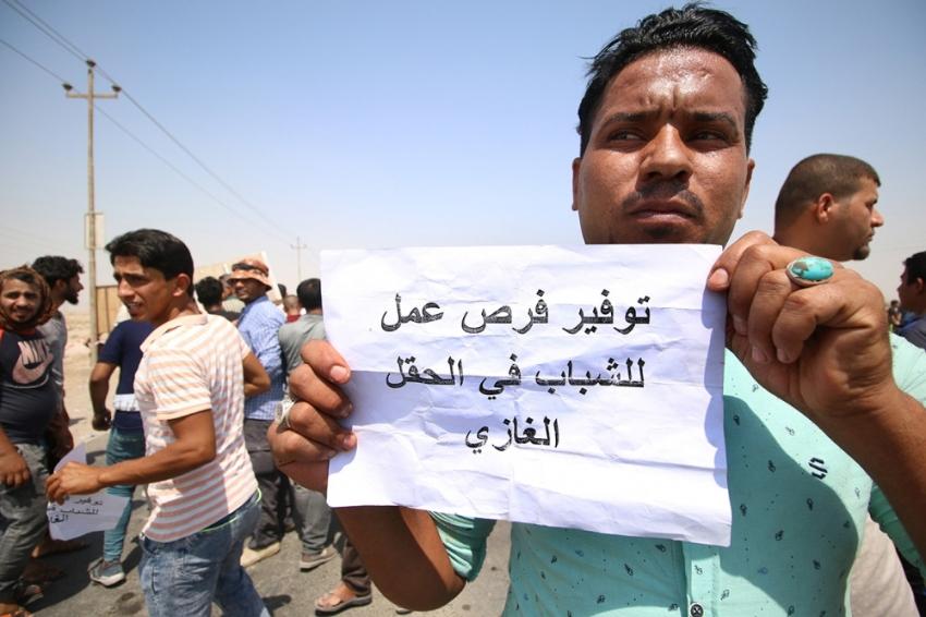 Irak'taki protestolarda 53 kişinin yaralandığı açıklandı