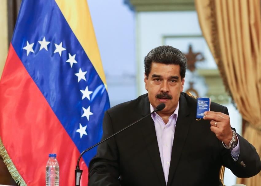 Maduro: Kendimizi ülkemizi savunmaya hazırlıyoruz