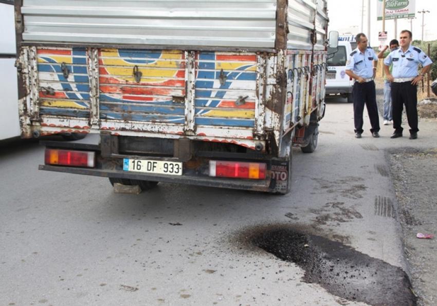 Ham metrol yüklü kamyon ele geçirildi