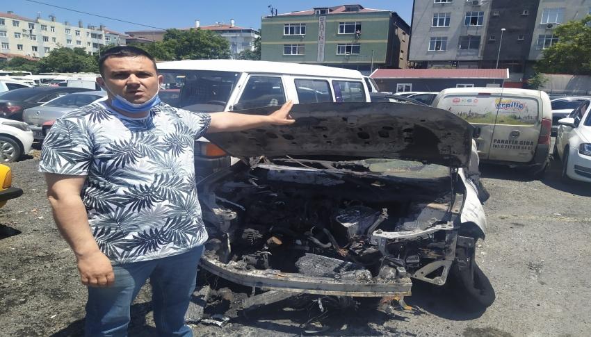 Kız arkadaşı ayrılınca, ailenin arabasını yaktı