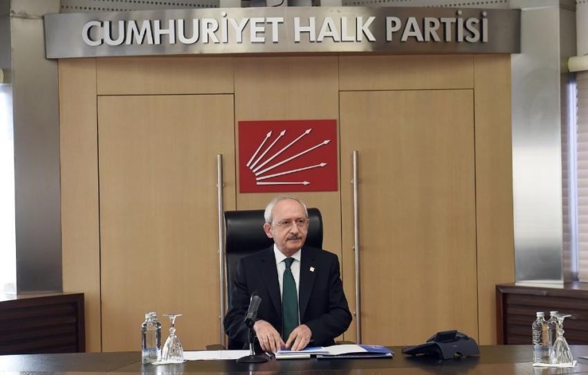 """CHP Yönetimi """"kurultay yok"""" dedi"""