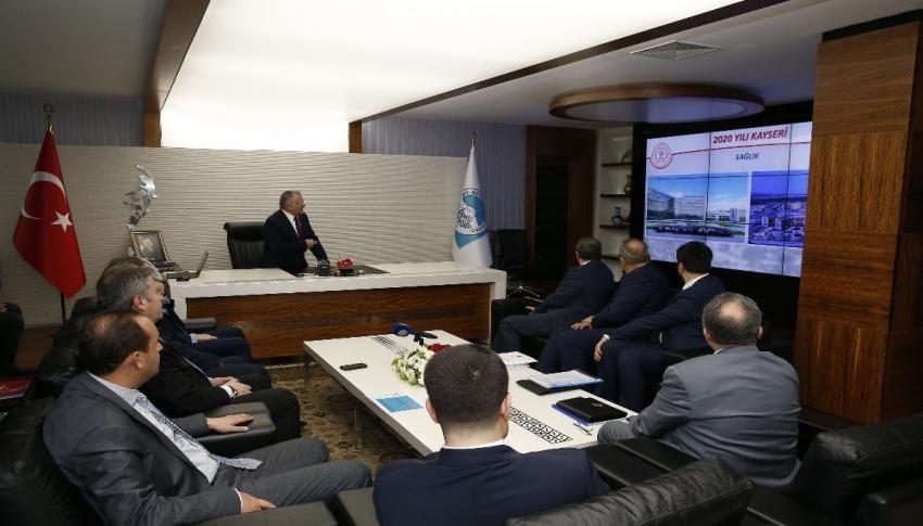Kültür ve Turizm Bakan Yardımcısı Demircan, Büyükşehir Belediyesi'ni ziyaret etti