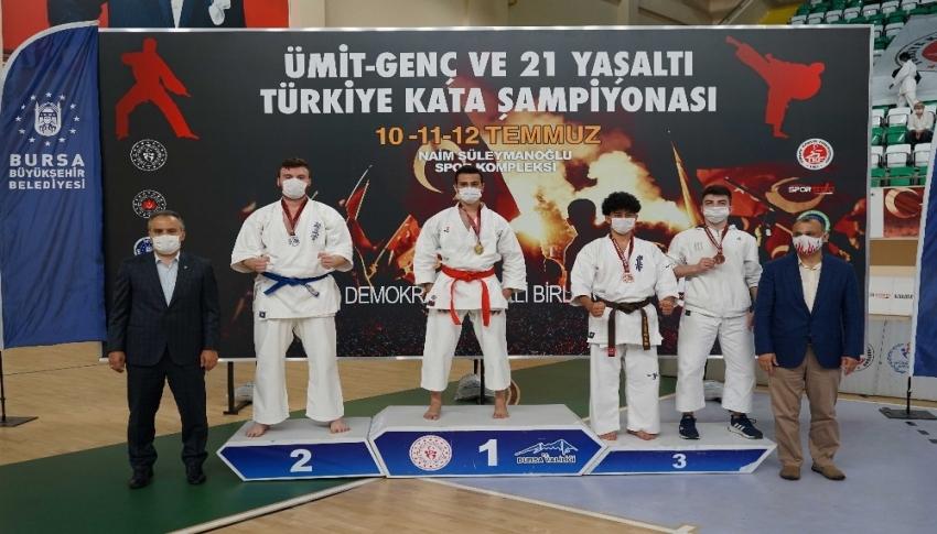 Türkiye Kata Şampiyonası Bursa'da tamamlandı