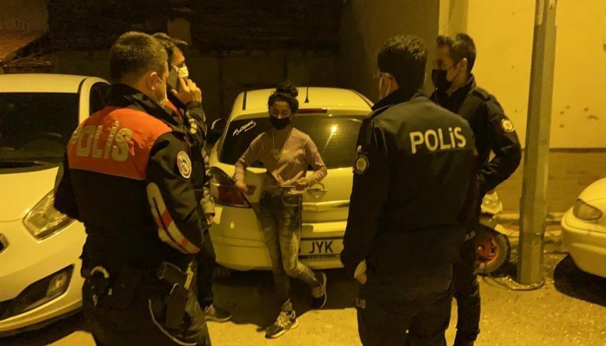 Bursa'da çaldığı bisiklet ile olay yerine gelen genç kız yakalandı