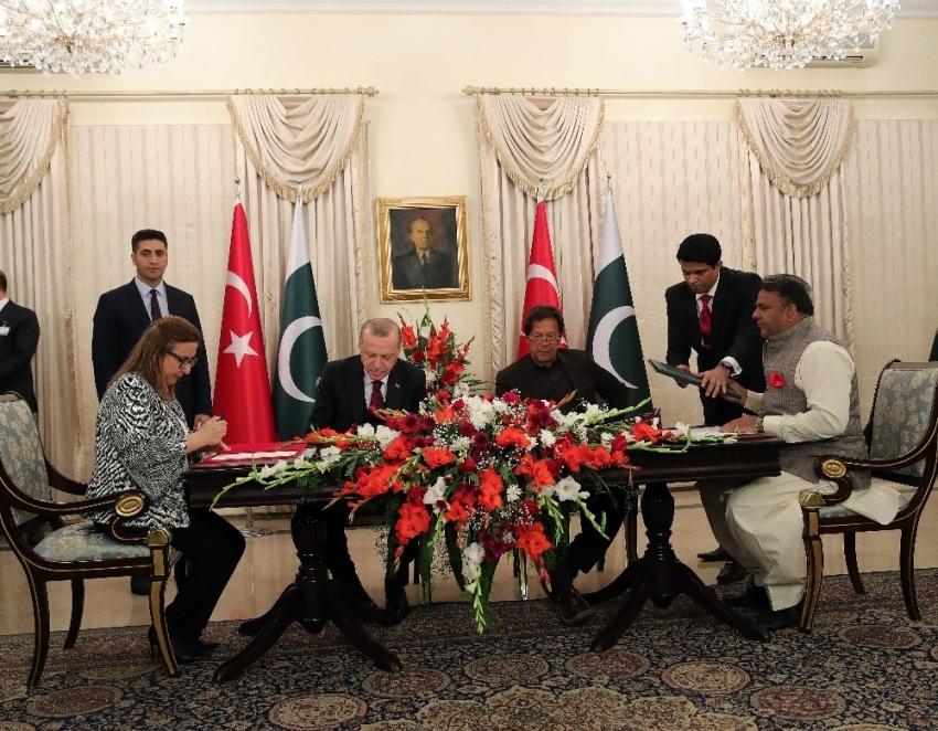 Erdoğan, Yüksek Düzeyli Stratejik İşbirliği Toplantısı'nda