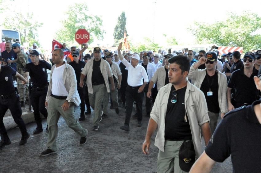 'Adalet Yürüyüşü'nün 22. günü başladı