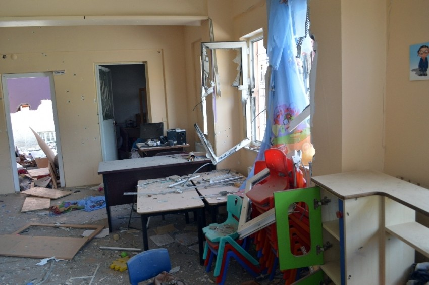 Teröristler Şırnak'ı yerle bir etti