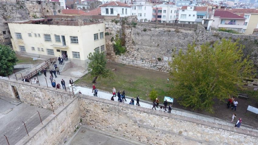 """Anadolu'nun Alkatraz""ına ziyaretçi akını"