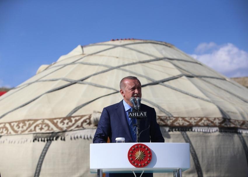 """Cumhurbaşkanı Erdoğan:""""Bizi bölmeye çalışanlara fırsat vermeyeceğiz"""""""