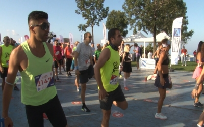 'Şiddete karşı koş' diyenler Kadıköy Yarı Maratonu'nda ter döktü