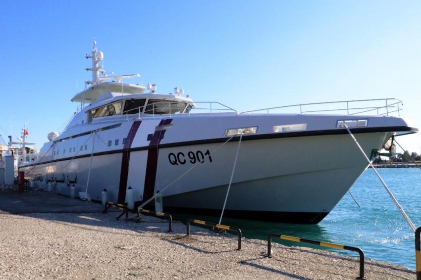Dünyanın en hızlı açık karakol gemisi Türkiye'den
