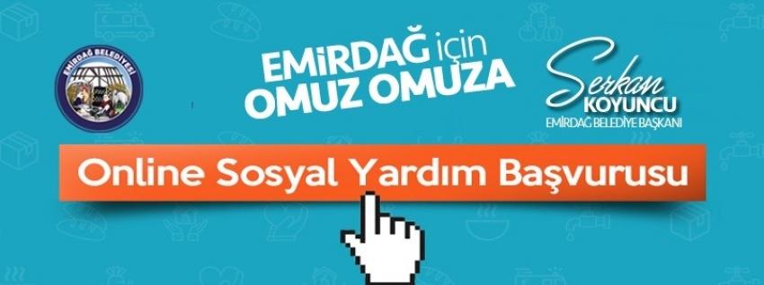 Emirdağ Belediyesi'nden Online Sosyal Yardım başvuruları