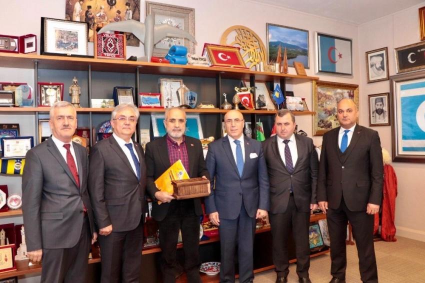 """Topçu: """"Kıbrıs büyük Türk milletinin milli davasıdır"""""""