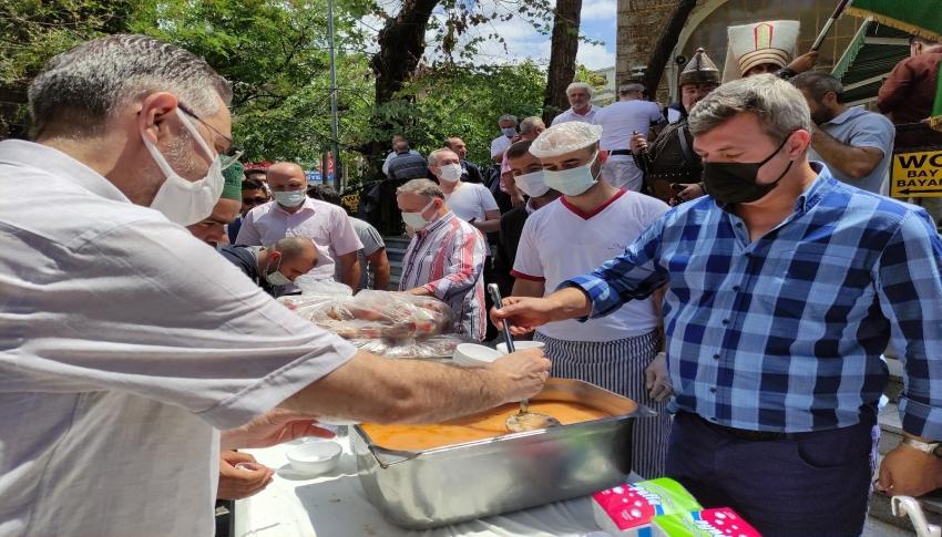 Bursa'da bu çorba 5 asırdır yılda bir defa pişiyor
