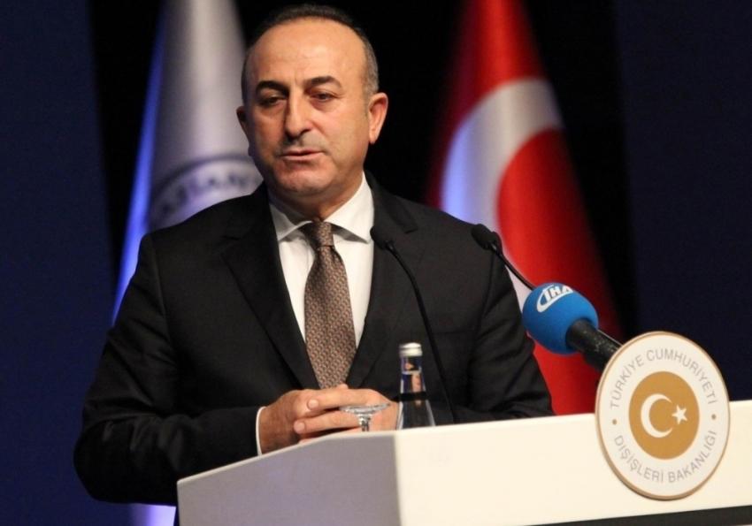 Bakan Çavuşoğlu, Letonya Meclis Başkanı Murniece ile görüştü