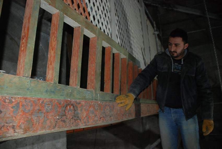 Restorasyonda 16'ncı yüzyıl eser ortaya çıkarıldı