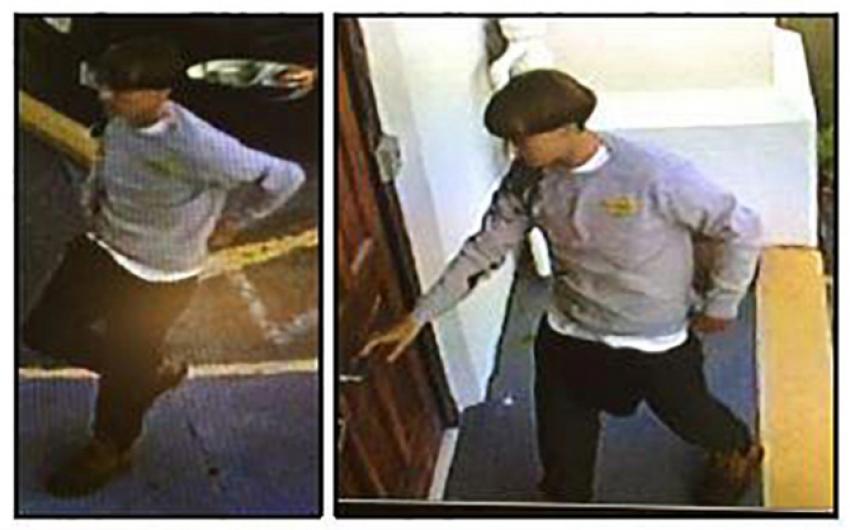 Amerikan polisi saldırganın fotoğrafını yayınladı