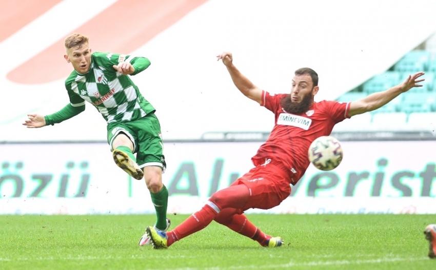 Bursaspor-Boluspor maçlarının istatistikleri
