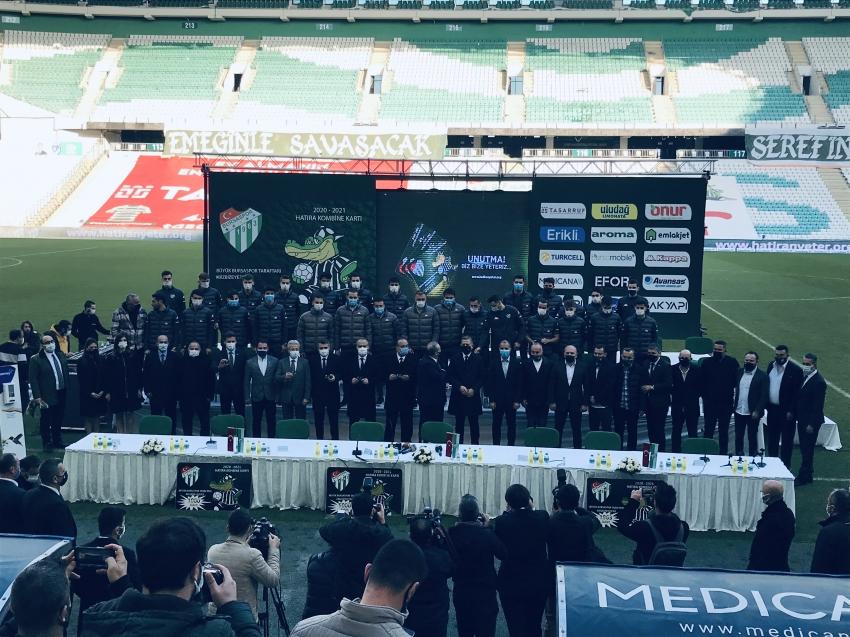 Bursaspor Hatıra  Kombineleri satışa çıktı
