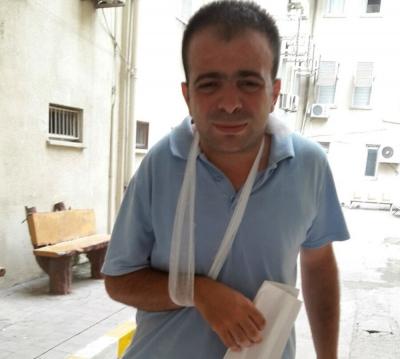 İskenderun'da sağlık çalışanına darp iddiası