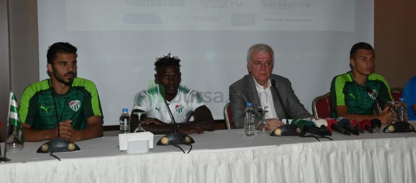 Bursaspor'da ilk imzalar atıldı