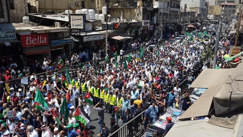 "Ürdün halkı ""Yüzyılın Anlaşması"" planını protesto etti"