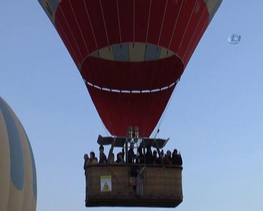 Balonlar artık bu kentte de havalanacak