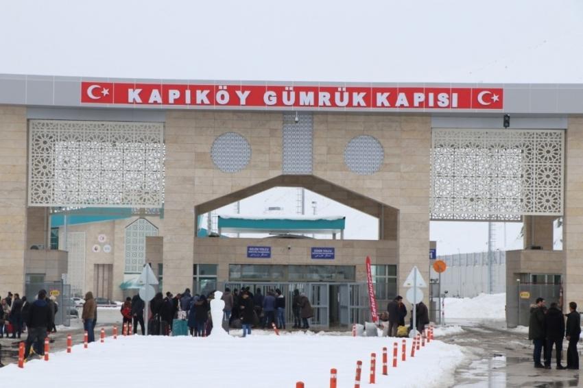 Kapıköy Gümrük Kapısı'na korona virüsüne karşı kamera yerleştirildi