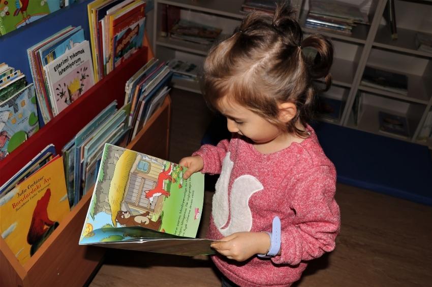 Türkiye'nin ilk bebek kütüphanesi